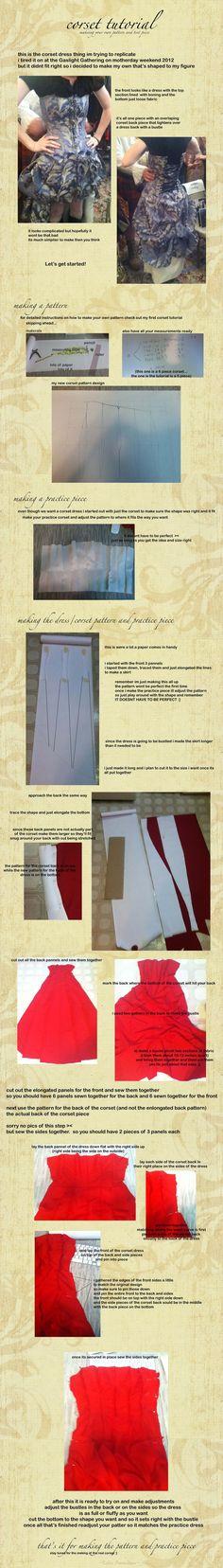 corset dress pattern tutorial by ~KellaxProductions on deviantART