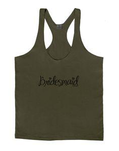 TooLoud Bridesmaid Design - Diamonds Mens String Tank Top