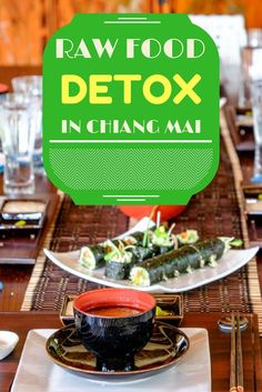 Raw Food Detox in the Beautiful Lanna Hills Near Chiang Mai, Thailand.