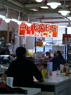 My fave egg sandwich stop: Steve's Lunch at Cross Street Market in South Baltimore. via @deankrimmel