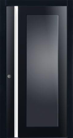 Piene Haustüre Detroit in schwarz. Spezielle Türmodelle für den anspruchsvollen Käufer! Fenster-Schmidinger aus Gramastetten in Oberösterreich bietet Ihnen die Pieno Türen jetzt an.   #Pieno #Haustüren #Doors #Eingangstüren