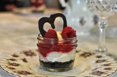Raspberry Cream Parfait