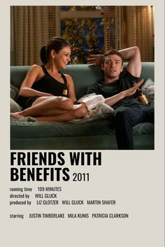 Iconic Movie Posters, Minimal Movie Posters, Iconic Movies, Old Movies, Netflix Movies, Friends With Benefits Movie, Friends With Benifits, Movie Hacks, Poster Minimalista