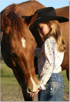 'A Girl's Best Friend' by Emily Peak Beautiful Horses, Animals Beautiful, Horse Girl Photography, Little Cowgirl Photography, Horse And Human, Horse Quotes, Precious Children, Le Far West, Horse Pictures
