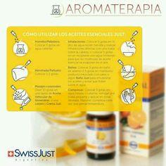 Usos de Aceites Swiss Just