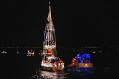 San Francisco's Lighted Boat Parade