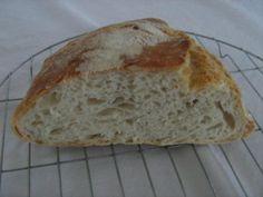 No knead bread No Knead Bread, Pan Bread, Cooking Recipes, Food, Basket, Recipes, Cooker Recipes, Chef Recipes, Meals