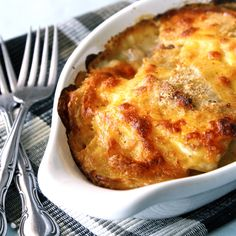 A lighter version of the classic scalloped potatoes