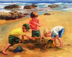 Galleries in Carmel California- Jones/Terwilliger - Corinne Hartley, Artist