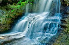 Laughing Whitefish Falls  Michigan Upper Peninsula