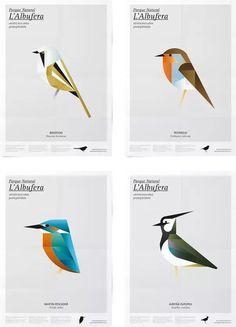 Carteles para el Parque Natural de l'Albufera por Manuel Martín Arenas | Experimenta
