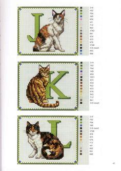 Gallery.ru / Фото #8 - Francien van Westering - Katten borduren met francien…