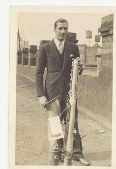 Adrian Rollini: the first jazz bass saxophonist -- and really one of the very few...ever