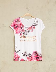 Girls Tunics, Girls Tees, Graphic Shirts, Printed Shirts, Cool T Shirts, Tee Shirts, Look Fashion, Kids Fashion, Outfits For Teens