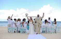 Collin & Carey's destination wedding in Mexico, Mexico beach wedding, Mexico wedding ideas @destweds