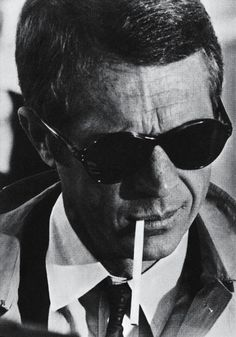 smoke, shades, smirk... vintage cool Plus