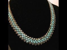 (2) Half A Tila Necklace - DIY - YouTube