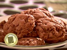 Stephanie Tyler's Chocolate Surprise Cookies  One of our favorite cookies! Use the whole pkg of Heath bits.
