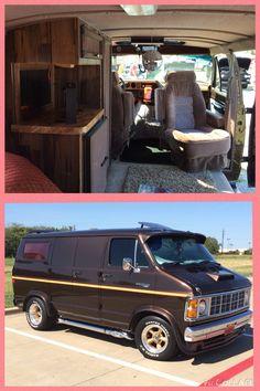 Custom 1979 Dodge boogie van