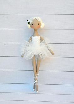 Hey, I found this really awesome Etsy listing at https://www.etsy.com/listing/228524529/ballerina-dolltextile-doll-decorative