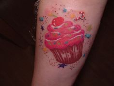 Absolutely Love My New Cupcake Tattoo Itaposs Even Better Than I