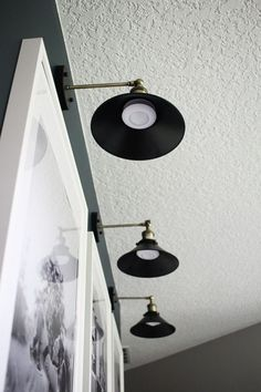 Install Wall Lights Without Running Electrical || Within the Grove Great idea! Install sconce lighting anywhere using battery puck lights that have remote to turn on/off. Save electrician bill.
