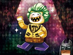 Joker's clothes for a party - Visit to grab an amazing super hero shirt now on sal Joker Batman, Bat Joker, Lego Batman Movie, Joker Art, Joker And Harley Quinn, Lego Dc, Lego Marvel, Marvel Dc Comics, Drarry