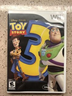 SWEET GAME DEALS AVAILABLE NOW!!! Toy-Story-3-Nintendo-Wii-2010  #pixar #disney #toystory #wii #nintendo #switch #nintendoswitch #gamers #pcgamers #gamerunite #techdeals #auctions #gameauction #pcgaming #msi #sony #alienware #windows #ebaydeals #ebayauction