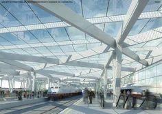 [A3N] : Neuer Internationaler Peripheriebahnhof Cessange /  P.ARC - Partnership for Architecture, Itten + Brechbühl, Schemel Wirtz Architectes
