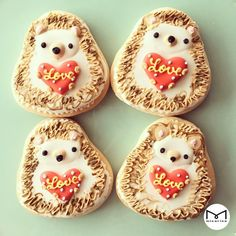 icingcookies#sugarcookies #アイシングクッキ#ハリネズミ