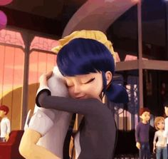 look see how they don't let go like the others. PLEASE BE ANOTHER SIGN THAT ADRIEN LOVES MARINETTE!!!!!!!!!!!!!!!!!!!!!!!!!!!