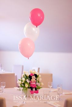 Christening, Minnie Mouse, Place Cards, Place Card Holders