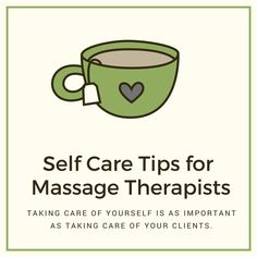 12 Self-Care Tips for Massage Therapists