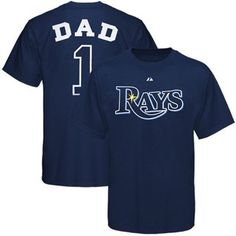 Majestic Tampa Bay Rays Father's Day T-Shirt