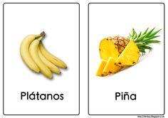 Plátanos y piña