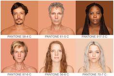 Somos Todos PANTONE: Projeto Humanae