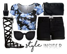 """""""Sunday style"""" by j-n-a ❤ liked on Polyvore featuring Steve Madden, OPI, Croft & Barrow, contestentry, laceupsandals and PVStyleInsiderContest"""
