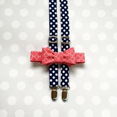 Boys Bow Tie and Suspenders Set -Suspenders and Bow Tie - Neckwear for Boys…