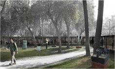 Galería de ELEMENTAL, Tercer Lugar en concurso de diseño del Parque Museo Humano San Borja / Santiago - 3