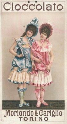 In posa col parasole, ca. 1910