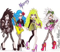 Pizzazz and the Misfits