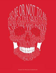 Hamlet Skull Print | Hamlet | RSC Shop