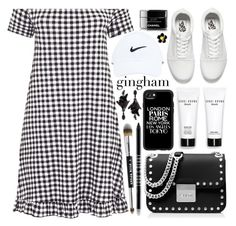 """""""Casual"""" by sans-moderation ❤ liked on Polyvore featuring MICHAEL Michael Kors, Vans, NIKE, Bobbi Brown Cosmetics, Casetify, Oscar de la Renta, Chanel, Lord & Berry and Stila"""