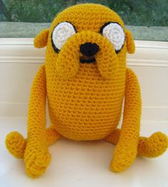 Crochet Jake by Angry Angel on Craftster...he's gorgeous!