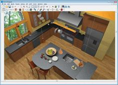 Adorable Free Kitchen Planning Software With Virtual 3D Kitchen Endearing Design My Kitchen Free Online Design Decoration