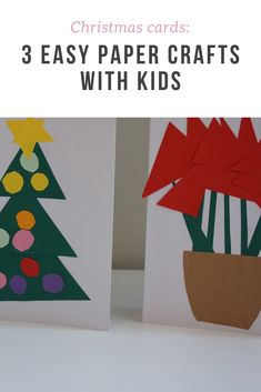 How to: 3 easy Christmas card crafts to make with young kids | Wave to Mummy