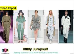 Casual Style: Utility Jumpsuit Trend at NYFW SS 2015. Marc Jacobs, Band Of Outsiders, Zimmermann, Creatures Of Comfort, and Marc by Marc JacobsSpring Summer 2015 New York Fashion Week. #SS15 #NYFW #SS2015