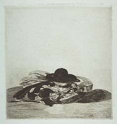 "Hat and Guitar. Cover design for ""Eaux-fortes par Edouard Manet,"" an album of fourteen etchings 1862.  Édouard Manet"