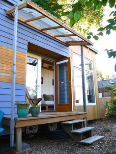tiny house portland modern outside