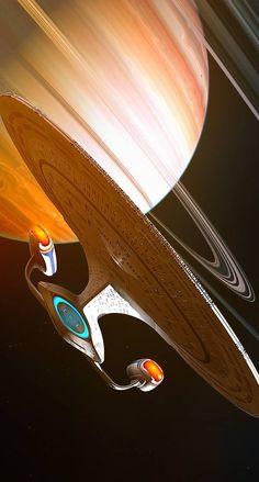Galaxy Class Jan 2020 by GrahamTG on DeviantArt Nave Enterprise, Star Trek Enterprise, Vaisseau Star Trek, Star Trek Wallpaper, Star Trek Posters, Star Trek Cosplay, Starfleet Ships, Sci Fi Spaceships, Star Trek Series